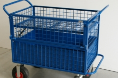 Chemical transport trolley