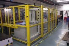 Mild steel- tool seperator guard system
