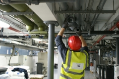 ABS pipe- Mechanical installation