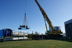 Machine Installation (Engel)- Crane