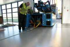 Machine Installation (Engel)- Air skates and winch