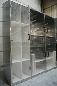5s stainless steel parts cabinet
